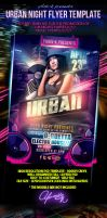 Urban Night Flyer Template by yAniv-k