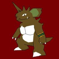 New to 2014: Rodger the Nidoking by Kopatropa