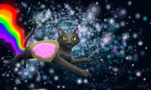 Nyan Cat  A Realistic One by BlankeyJohanna