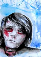 Secret Bleu by MCRgripa