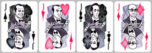 Cher Playing Cards [jacks] by inkjava