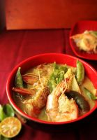 Thai Prawn Green Curry by sasQuat-ch