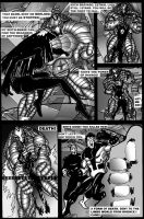 DEATH RAVAGES pg 4 by graffilthy