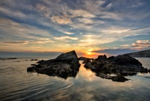 Rocky sunset by CharmingPhotography