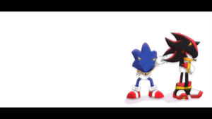 Sonic and Shadow by Laminated-TeabaG