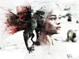 Mother of Dragons by Hernandez-Henson