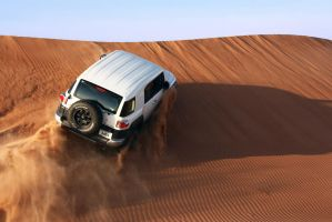 Desert 6 - FJ Cruiser by weird-abdulla