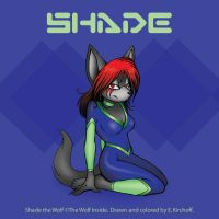 Shade the Wolf Fanart by Yastach