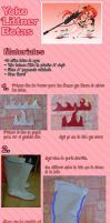 Yoko boots tutorial SPANISH by Glory-chan