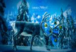 Christmas Reindeer by annewipf