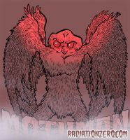 Mothman by RossRadiation