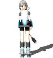 MMD - ALT DESIGN Piko With DL by Kikami101