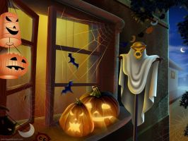Halloween Wallpapers 4 by diggwallpapers