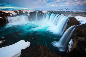 Godafoss by porbital
