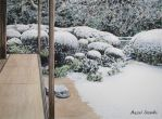 117. A Zen Garden in Winter by Masasasaki