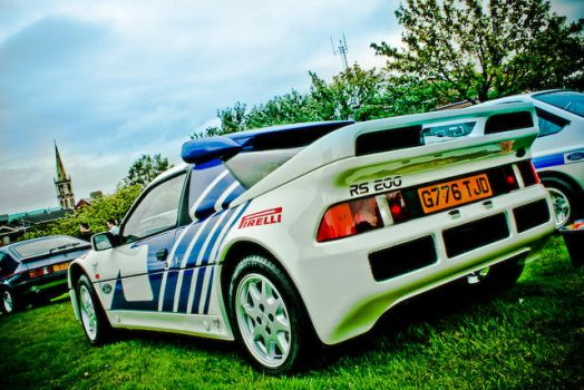 Ford RS200 side by itookthisphoto