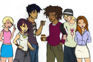 6teen gang take 2 COLOURED by daanton