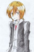 Basil:Coloring Pencil by UVERworldnoZanGetsu