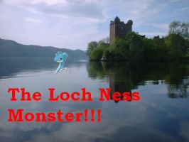 Loch Ness Monster is Lapras by ReaperNeku