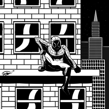 Graphic Novel Spider-Man by CastroOfTheVault