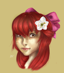 Humanized  Apple Bloom by Nayra-the-Wolf