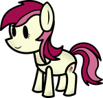 Paper Roseluck by FinePrint-MLP