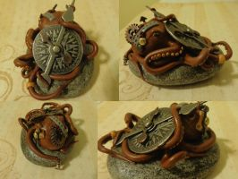 Steampunk octopus 2 by AllyXCat3