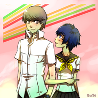 P4 - My Senpai by Zayrion