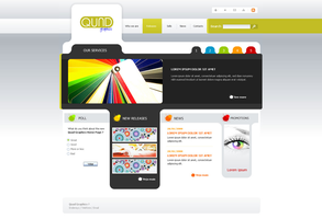 Quad Graphics Website by vortiss