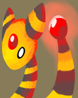 Ampharos for the application by cartoonboyplz