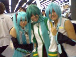 Vocaloid Group in Supercon by MegaManVolnutt1