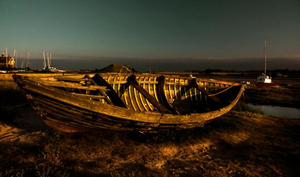 Alnmouth boat by newcastlemale
