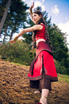 Katara - Fire Nation by elliria