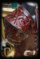 Celtic Warrior Shoulder by Feral-Workshop