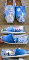 Cinderella Shoes by feavre
