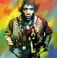 Voodoo Child - Jimi Hendrix by yorkey-sa