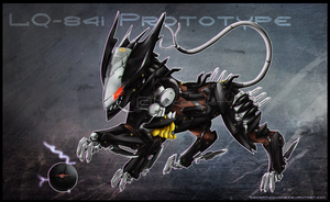 .: LQ-84i 'Blade Pup' Prototype :. by TheDeceptikitty