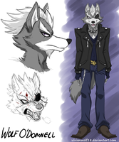 Wolf O'Donnell Concept Art by VivianWolf18