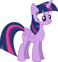 Vector Twilight Sparkle by DeyrasD