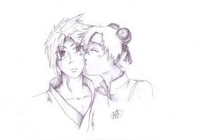 Sasuke And Tenten Sweet love by Conwant