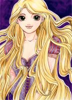 Rapunzel from Tangled by Nyra992