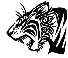 Tribal Tiger the Second by Revie6661