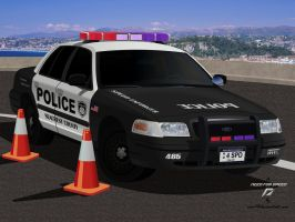 SCPD Crown Vic Tribute by EVOV1