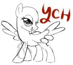 Sassy Pegasus YCH by equinepalette