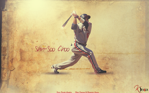 Shin-Soo Choo Wallpaper by KevinsGraphics