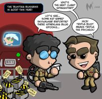 Lil Formers - Ghostbusters by MattMoylan