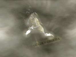 golden drogba in photofiltre by DubleD