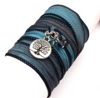 Silk Wrap Bracelet by charmed1012