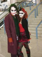 Joker and Harley Quinn by Wolf-Girl-Rin