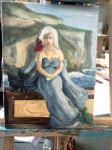 WIP - Mother of Dragons by pink-gizzy